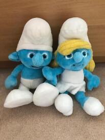 Genuine Smurf Soft Toys