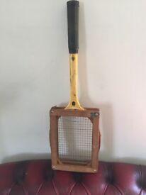 Vintage Tennis Raquets and Balls.