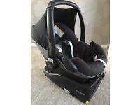 Maxi Cosi car seat and ISO Fix family fix base
