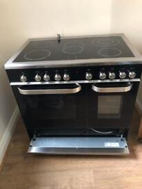 Stainless steel Kenwood ceramic cooker