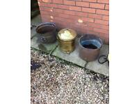 Brass & Copper Pots