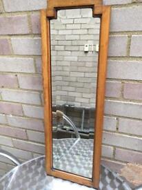 Vintage Mirror Edwardian Beveled Edges