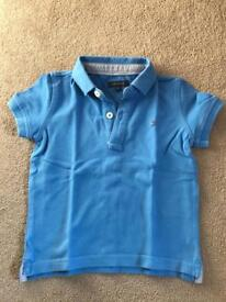 Boys age 18 months Ralph Lauren and Tommy Hilfiger t shirts