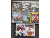 PS3 Games in good condition-see separate prices