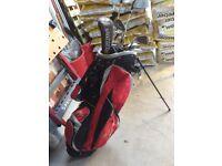 Golf Clubs & Bag.