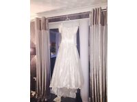 Roland Joyce white wedding dress