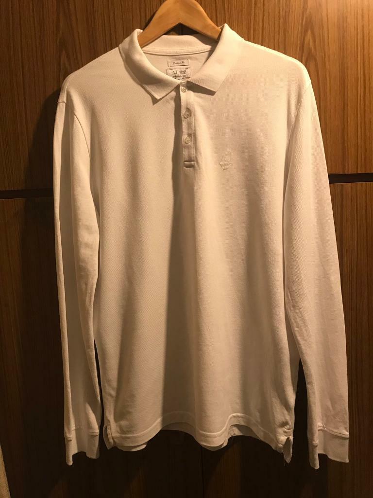 b1222cee Armani Jeans Long Sleeve Polo Shirt | Lixnet AG
