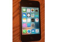 Apple iPhone 4s Black 16 gb any network good condition