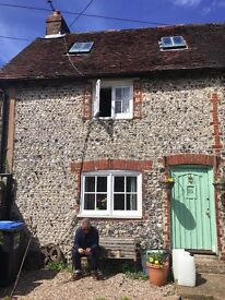 GORGEOUS FLINT COTTAGE: 5 miles from Hove - beautiful beamed cottage