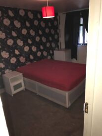Freshly decorated large double n single room