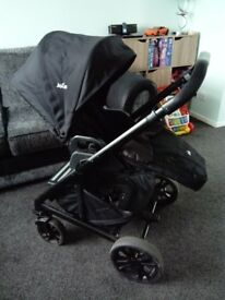 Joie Chrome Pram/Stroller/Travel System