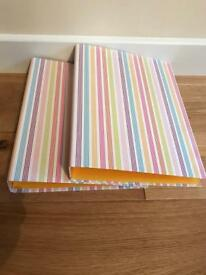 2 brand new A4 ring binder folders