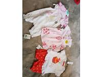 Bnwt girls summer bundle 0-3 months