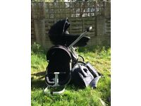 Quinny stroller and carrycot in excellent condition