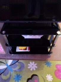 Glass Tv Stand! ** bargain**