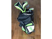 Woodworm Kids golf clubs 3-5