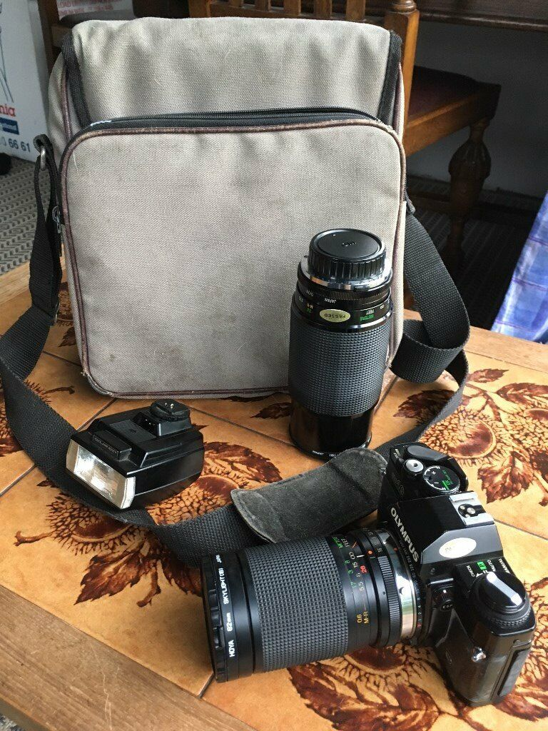 Olympus OM40 camera and accessories | in Worksop, Nottinghamshire | Gumtree