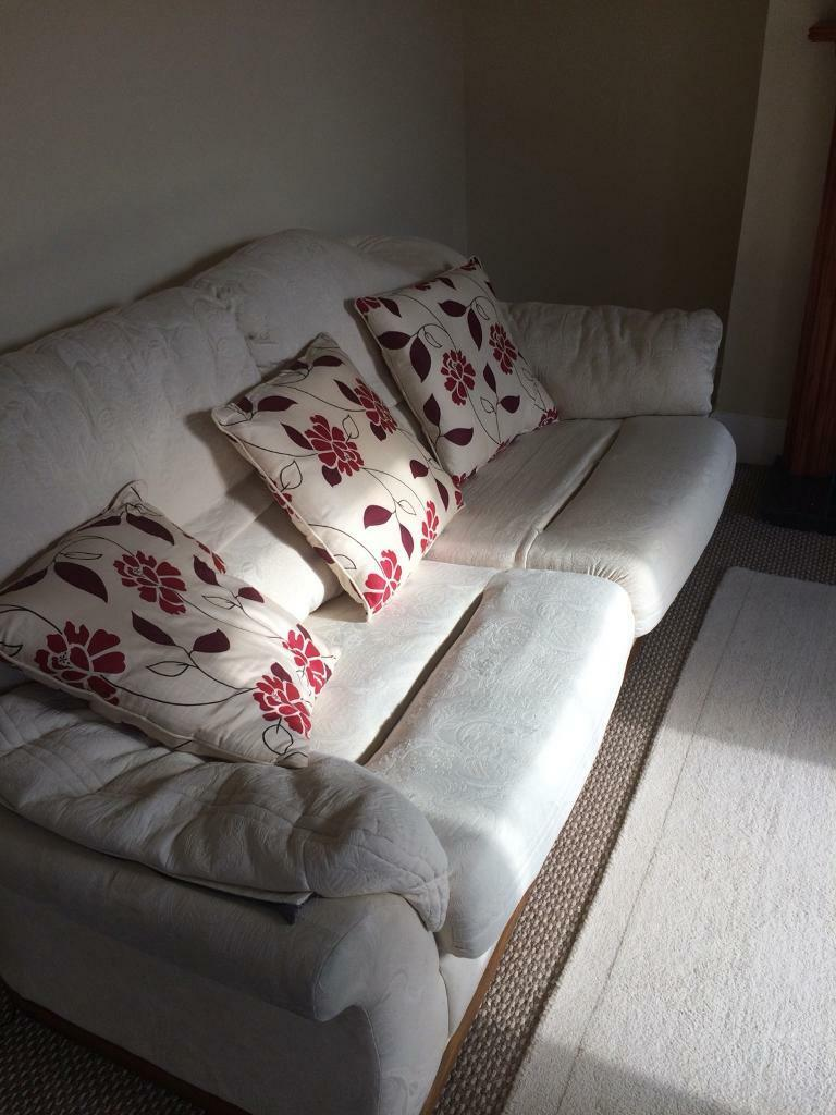 Sofa and armchair free of charge