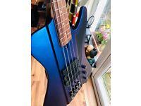 Dingwall D-Roc Bass (blue/purple colourshift)