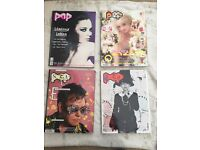 POP magazine. 4 issues. Good condition.