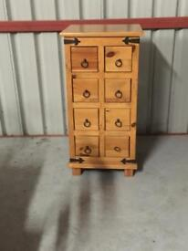 Solid pine book case and cabinet