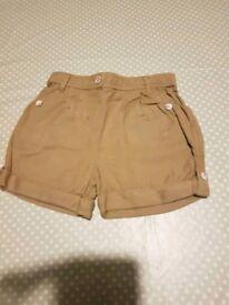 Girls shorts age 2 -3 years