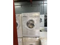 nice white hotpointwashing machine it's s 6kg 1200 spin in excellent condition in full working order