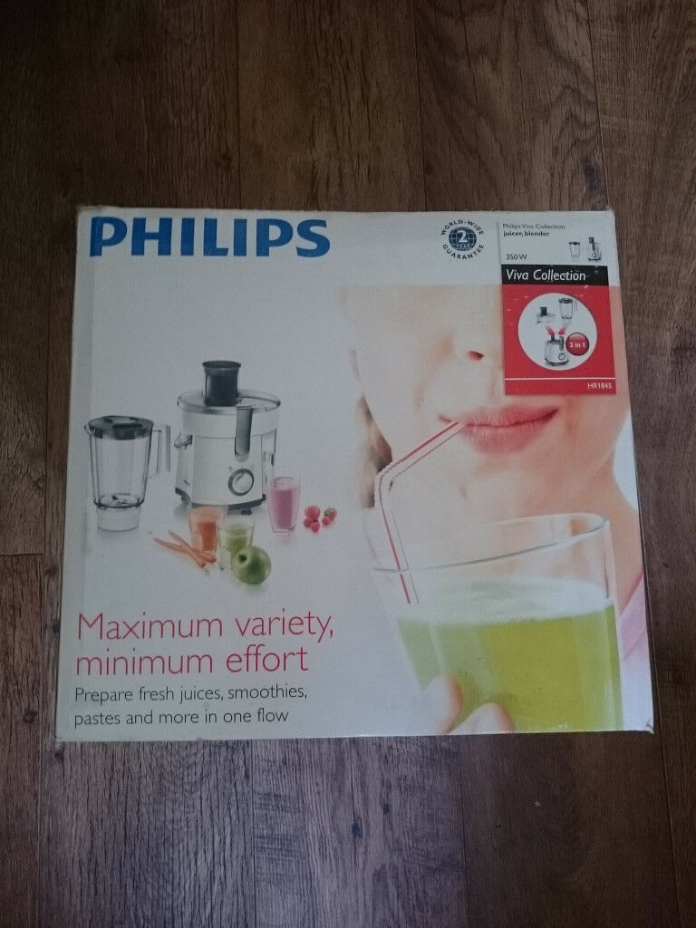 Philips Viva Collection Blender and Juicer HR1845 brand new never opened