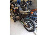 2x Suzuki DR 650s