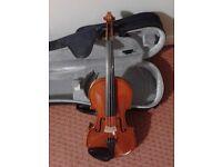 Westbury Violin 4/4 including hard case