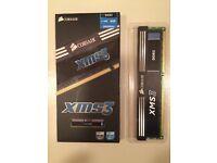 CORSAIR XMS3 8GB 1600MHz COMPUTER MEMORY CARD