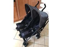Twin Stroller/Buggy - Obaby Apollo