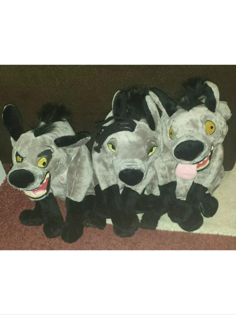 Disney Hyenas Soft Plush Toys Lion King Ed Shenzi Banzai