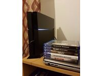PS4(500GB) + 5 Games (The Last Of Us, Fallout 4, Black Ops 3, The Witcher 3 & The Evil Within)