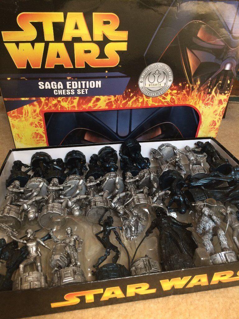 Complete Star Wars Saga Edition Chess Set Individually