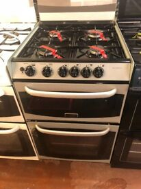 55CM SILVER CANNON GAS COOKER