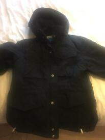 Heavy adidas black coat XL