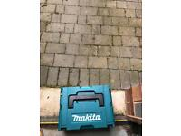 Makita 18v hammer drill with case and charger ( no battery)