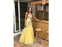 Beautiful Yellow Prom Dress