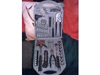 HANDY SIZED CASED TOOL KIT , IDEAL FOR THE CAR/HOME FOR SALE.