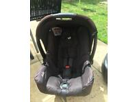 Joie baby car seat & isofix base