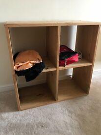 Softwood book shelf