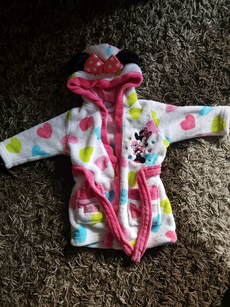 Baby girl dressing gown size 3-6 months   in Kingston, London   Gumtree