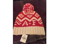Abercrombie and Fitch woolly hat