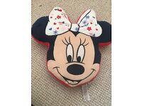 Minnie Mouse girls bedroom bundle cushions blanket pillow pet