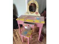 Cute used fairly old girls dressing g table