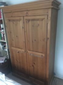 Antique Pine Wardrobe originally purchased from Wot-Not Antiques.