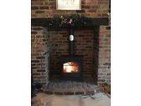 Multi fuel stove installation hetas registered twin wall and flexi liners