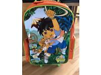 Go Diego pull along travel bag with wheels