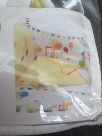 Mothercare cotbed bedding